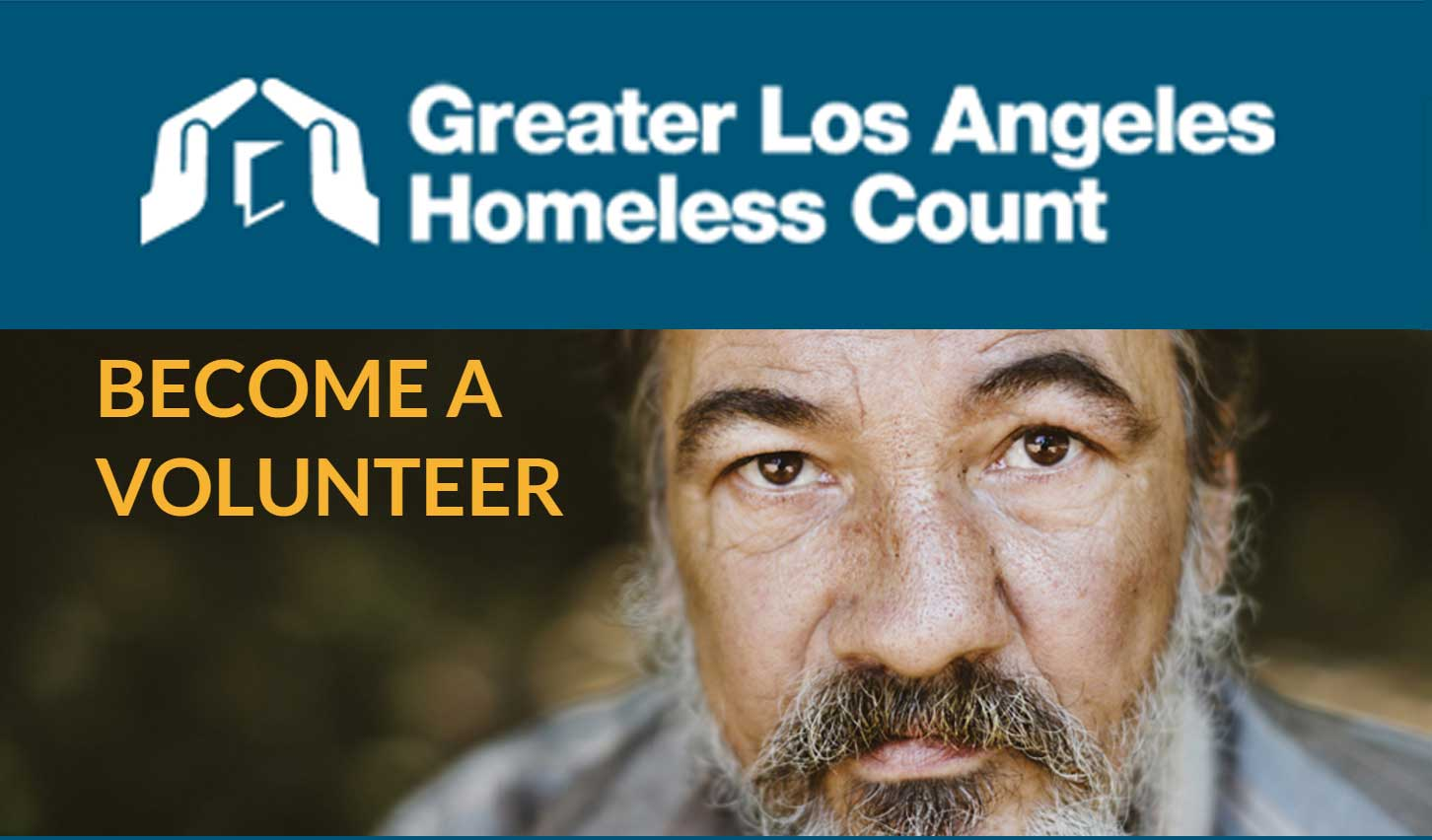 Register Today to be part of the Homeless Count