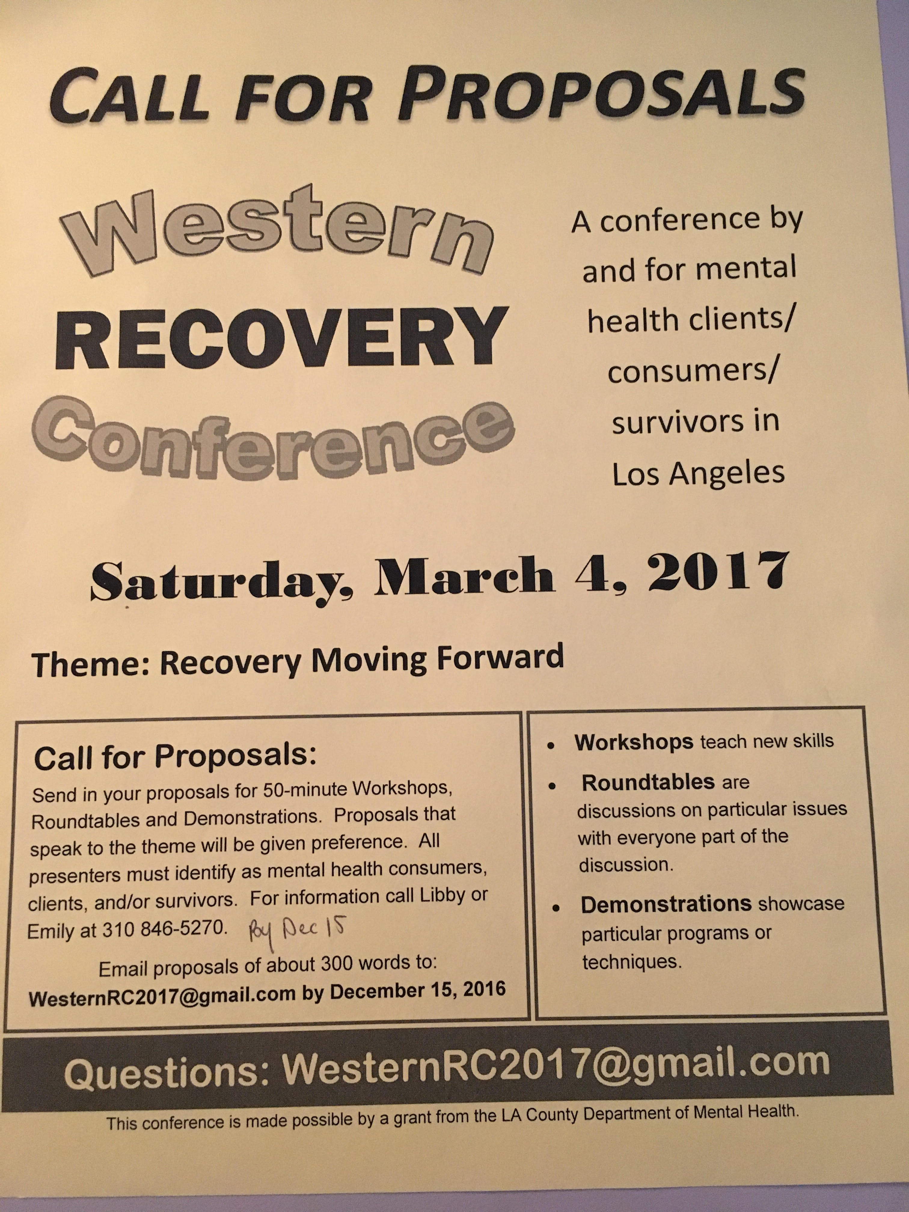 Events lac client coalition western recovery conference 2017 aiddatafo Choice Image